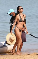 Alessandra Ambrosio And friends are having a blast during a beach day in Trancoso in Brazil