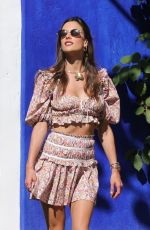 Alessandra Ambrosio Reminding us all of her model status during a picturesque photoshoot in Trancoso, Brazil