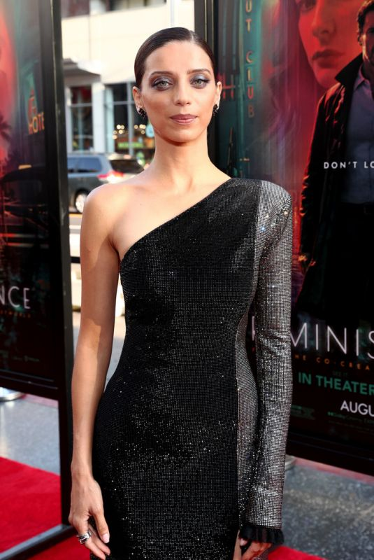 Angela Sarafyan At Reminisicence Premiere in Hollywood