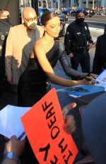 Angela Sarafyan Signs autographs for fans in Hollywood