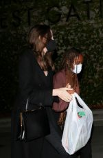 Angelina Jolie Leaving a Ziggy Marley concert at the Hollywood Bowl in Hollywood