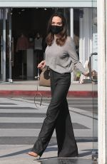 Angelina Jolie Shops for sunglasses with her son Pax at Optometrix: Professional Eye Care Center in Beverly Hills