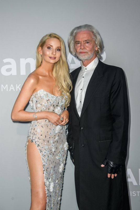 Anna Hiltrop At Amfar Party Photocall as part of the 74th Cannes International Film Festival