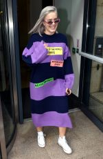 Anne Marie Leaving Today FM before she plays support to Ed Sheeran later tonight, Dublin