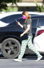 Ariel Winter Is pictured as she runs some errands in Los Angeles