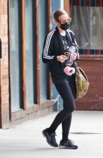 Ashlee Simpson Leaves an intense workout in Los Angeles
