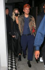 Ashlee Simpson Stepping out for a date night with her husband Evan Ross at Craig