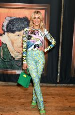 Ashley Roberts At the launch of Van Gogh: The Immersive Experience at The Old Truman Brewery, by Exhibition Hub and Fever