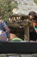 Ashley Roberts, Janette Manrara and Lou Teasdale Photographed in Mykonos, Greece
