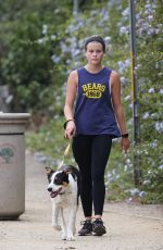 Ava Elizabeth Phillippe Dons comfy athleisure while on a dog walk in Santa Monica