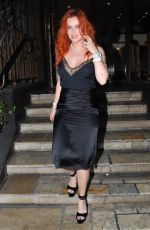 Bella Thorne In a sexy black Gucci dress leaving Le Petite Emeritage hotel in West Hollywood