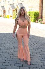Bianca Gascoigne Is seen heading out in North London