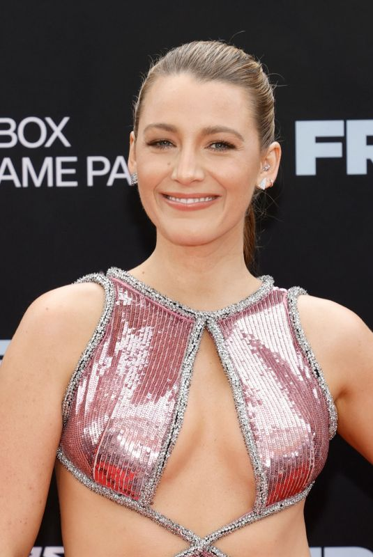 """Blake Lively Attends the """"Free Guy"""" Premiere at AMC Lincoln Square Theater in New York City"""
