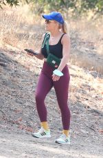 Busy Philipps Goes hiking with a male friend in Los Feliz