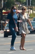 Busy Philipps Stops by the grocery store for Glad trash bags after a late lunch with a friend in Los Feliz
