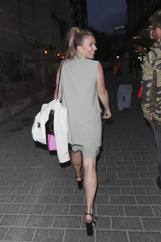 Candice Brown Pictured at the launch in Carnaby Street, London