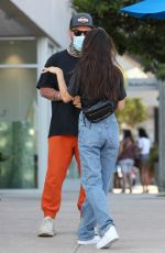 Cara Santana Was all smiles while celebrating her birthday with her boyfriend Shannon Leto in Malibu