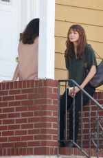 Carey Mulligan Is spotted on the set of She Said in Yonkers