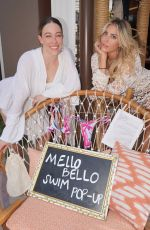 Cassie Scerbo Hosts Mello Bello Pop Up at Elia Beach Club LV with performance by Sofi Tukker at Virgin Hotels, Las Vegas