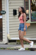 Chandler Kinney Heads out for some takeout food in Upstate New York