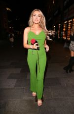 Chloe Crowhurst Attends Magic Mike Live at The Hippodrome in London