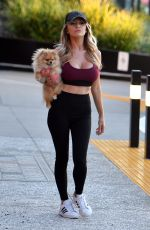 Courtney Stodden Heads to the mall with her pup in Los Angeles