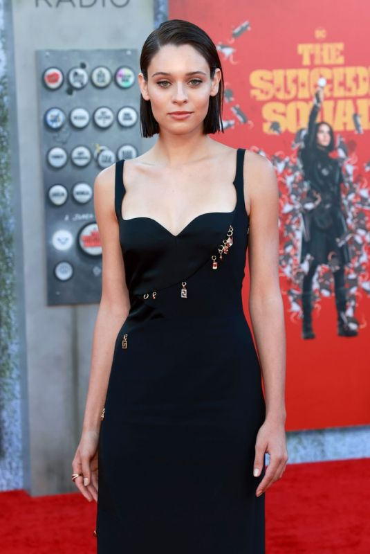 Daniela Melchior Attending the premiere of The Suicide Squad in Los Angeles