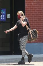 Emma Roberts Pictured stepping out in New York