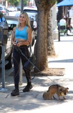 Emma Slater Displays her toned arms in Los Angeles