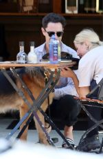 Emma Slater Seen out and about with their dogs in Los Angeles