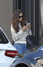 Emmy Rossum Pictured outside Nate n Als ahead of lunch in Beverly Hills
