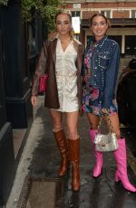 Georgia Harrison And her best friend Bella seen heading for lunch and drinks in Soho