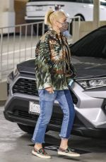 Gwen Stefani Joined by a friend for Tuesday errands in Beverly Hills
