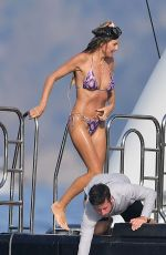 Heidi Klum With husband Tom Kaulitz during their sun soaked family holiday in Italy