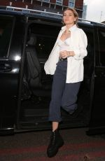 Immy Waterhouse Pictured arriving and leaving Van Gogh: The immersive experience in London