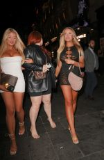 Jess & Eve Gale Seen at Magic Mike Live VIP Night in London