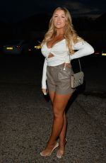 Jess Gale Heading for a night out at Novikov in Mayfair, London