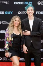 """Jessica Blevins Attends the """"Free Guy"""" New York Premiere at AMC Lincoln Square Theater in New York City"""