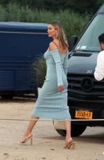 Karlie Kloss and Kendall Jenner attend a party in the Hamptons