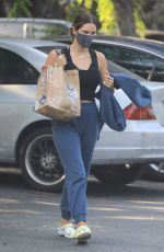 Katharine McPhee Was spotted leaving Bristol Farms in Beverly Hills