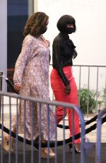 Kelly Rowland Shows as guest to RESPECT premiere with short bob cut in Westwood