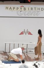 Kendall Jenner On a yacht in Positano, Italy