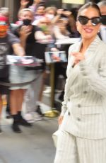 Lady Gaga Enters Radio City Music Hall for rehearsals in New York