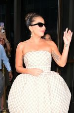 Lady Gaga On the streets of Manhattan in New York City