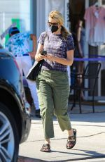 Laura Dern Takes a call while out running errands in Los Angeles