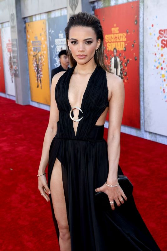 Leslie Grace Attending the premiere of The Suicide Squad in Los Angeles