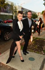 Lily Collins And her partner Charlie McDowell steal the show as they arrive at Cartier