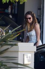 Lily James Out in LA