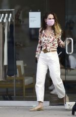 Lily James Wears a ring on that finger as she steps out looking chic in Los Angeles