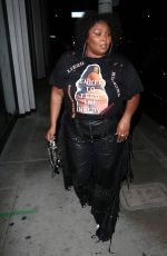 Lizzo Wears a T-shirt that read